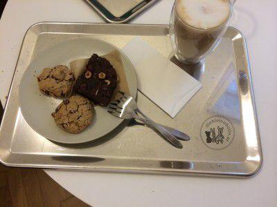 Cookies und Kaffee deli bluem