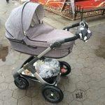 die neugierige kleine botin: Testfahrt Kinderwagen Stokke Trailz Teil1