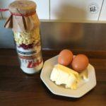 mal was (fast) selber machen: Kuchen im Glas