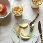 mal was selber machen: Mini-Apfel-Cheesecake für Kinder