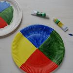 mal was selber machen: Farb-Scheibe und Lern-Uhr zum Drehen