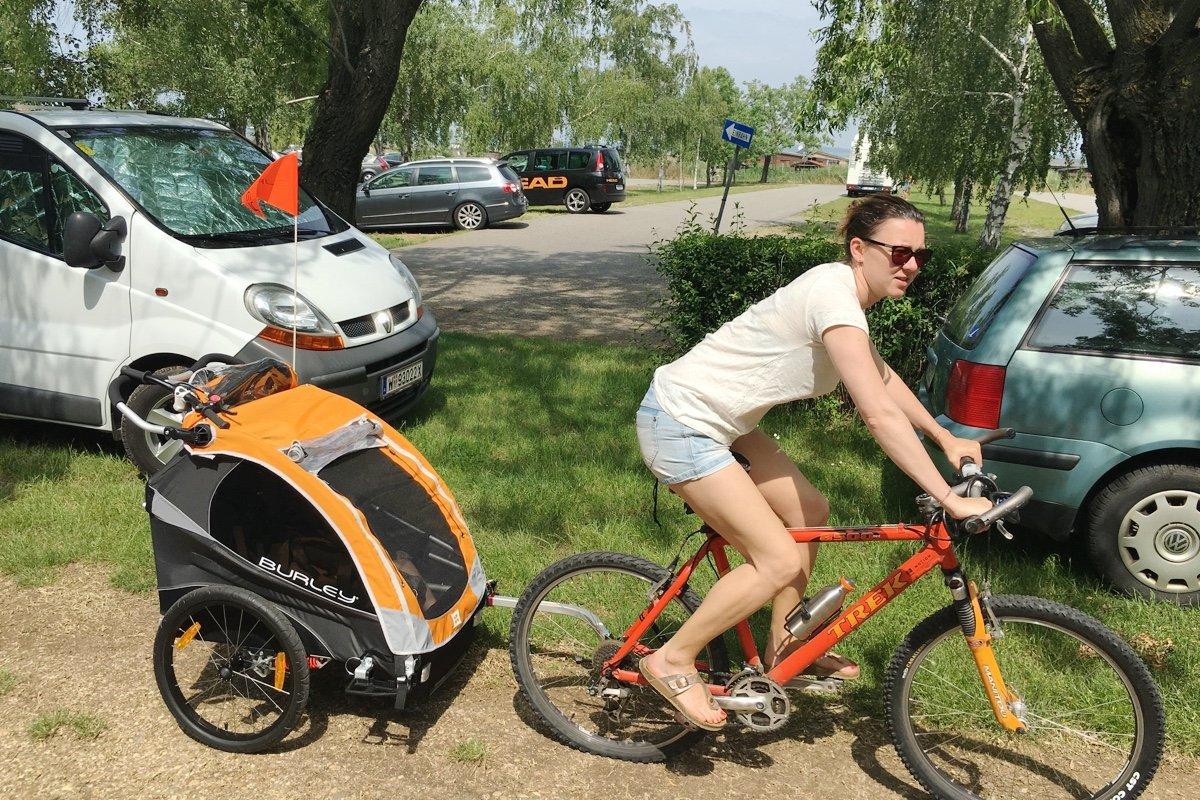 kinderwagen und fahrradanhänger als testbericht