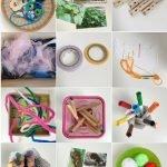 DIY und Bastel-Material für Kinder von 2-6 Jahren