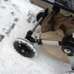 die kleine botin Bugaboo Schneeräder