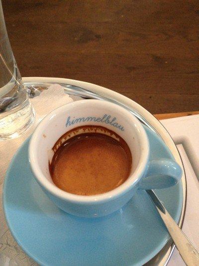 die kleine botin Café Himmelblau
