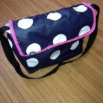 die kleine botin Kindergartentasche blau