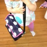 """die kleine botin Kindergartentasche""""in Action"""""""