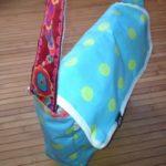 die kleine botin Kindergartentasche türkis