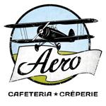 """die kleine botin """"cafe aero logo"""""""