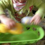 Spielzeug Alltag Hasenkorb die kleine botin