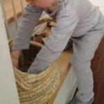Spielzeug Alltag Weidenkorb die kleine botin
