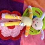 mini Puppe die kleine botin