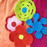 mini Häkelblumen die kleine botin