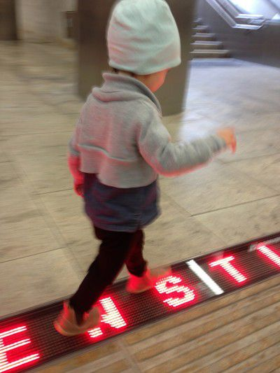 mini catwalk bobux i-walk die kleine botin