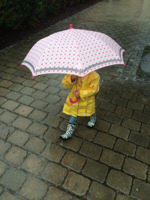 regenschirm die kleine botin