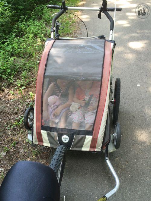 mehr als ein kinderwagen: ein tolles Gefährt für zwei Kinder. Im testbericht