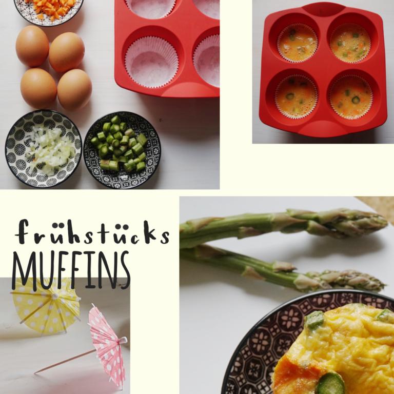 Muffins mit Spargel zum Frühstück | Rezept