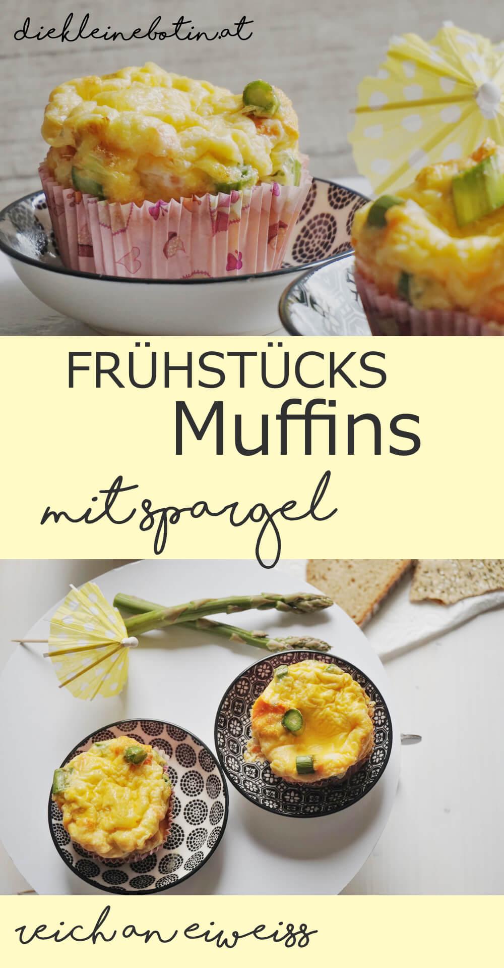 fruehstuecksmuffins spargel pinterest