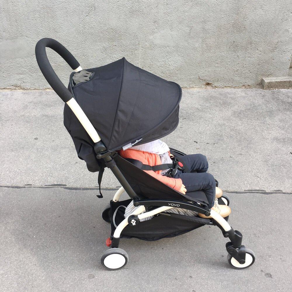 Der Kinderwagen, der ins Handgepäck darf