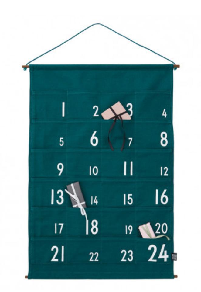 designletters adventkalender 1