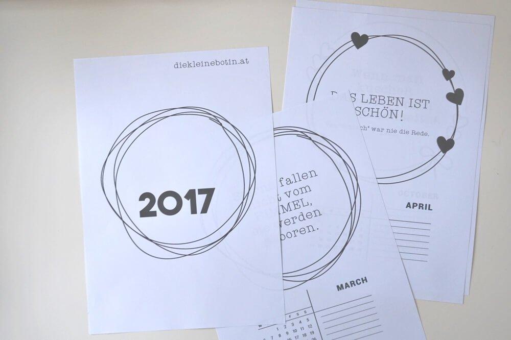 kalender 2017 die kleine botin 3