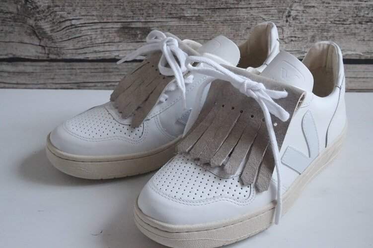 zalando sneakers fringe diy die kleine botin 2