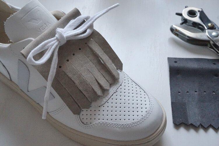 zalando sneakers fringe diy die kleine botin 4