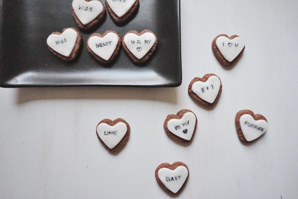 vegane valentins herzen die kleine botin 1