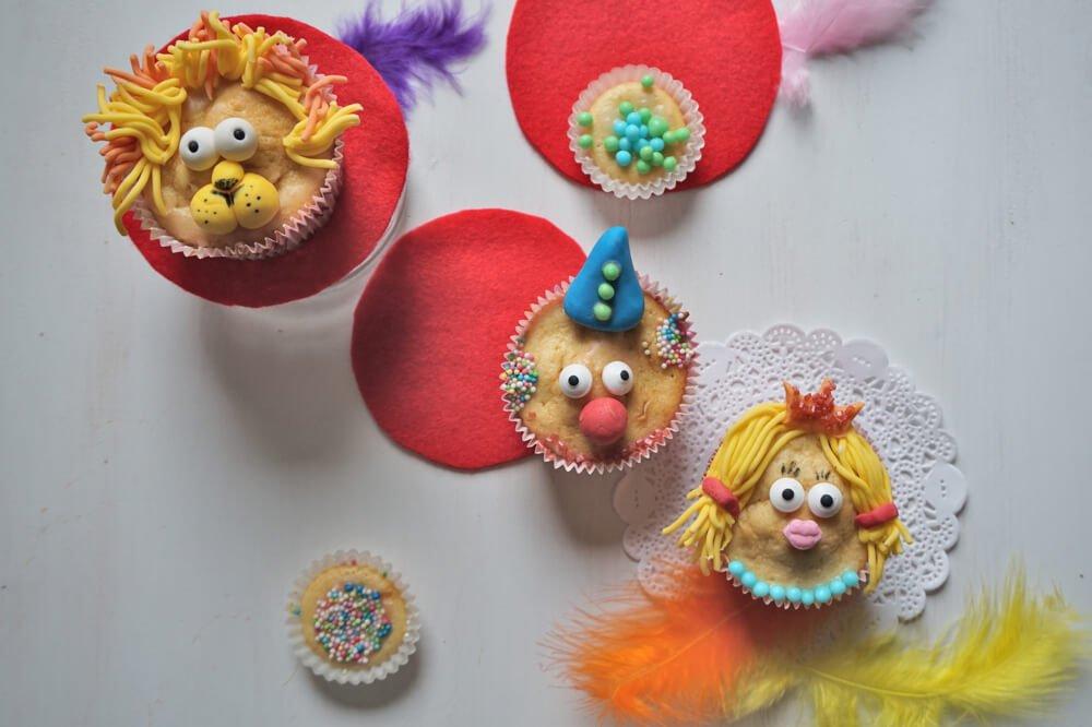 zirkus muffins die kleine botin