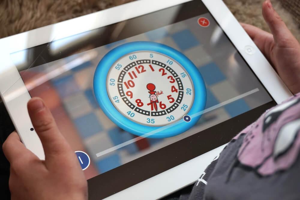 flikflak app uhr lernen die kleine botin 18