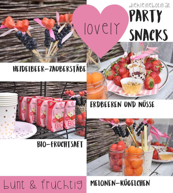 party snacks fruchtig pinterest