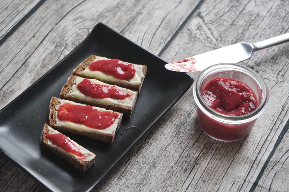 chia himbeer marmelade die kleine botin 2
