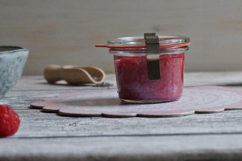 chia himbeer marmelade die kleine botin 3