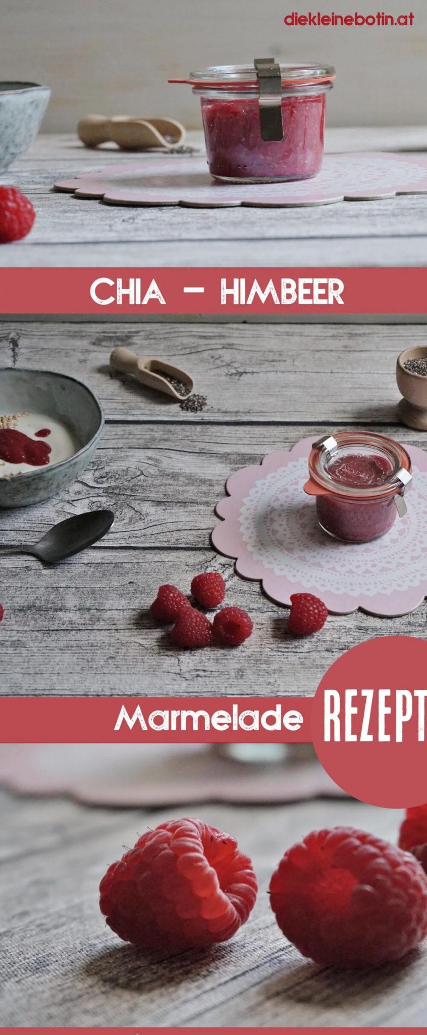 chia himbeer marmelade pinterest