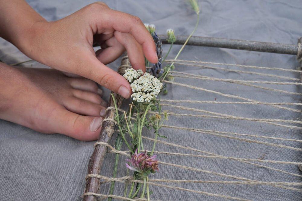 kraeuter natur weben die kleine botin 14