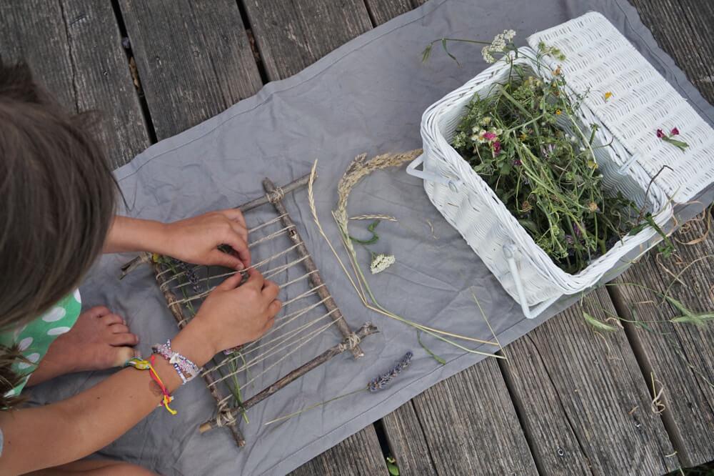 kraeuter natur weben die kleine botin 16