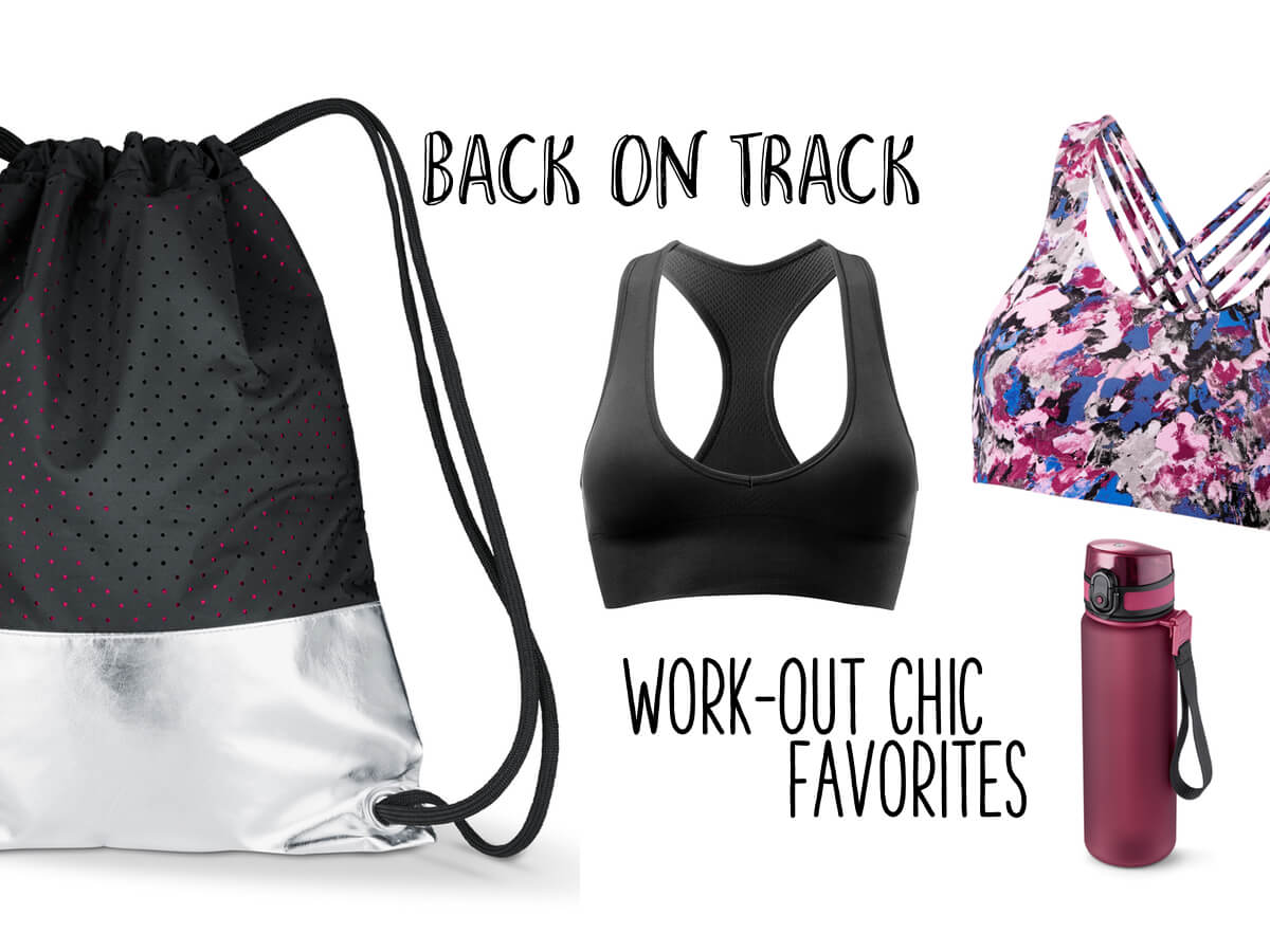 work out chic favorites collage die kleine botin