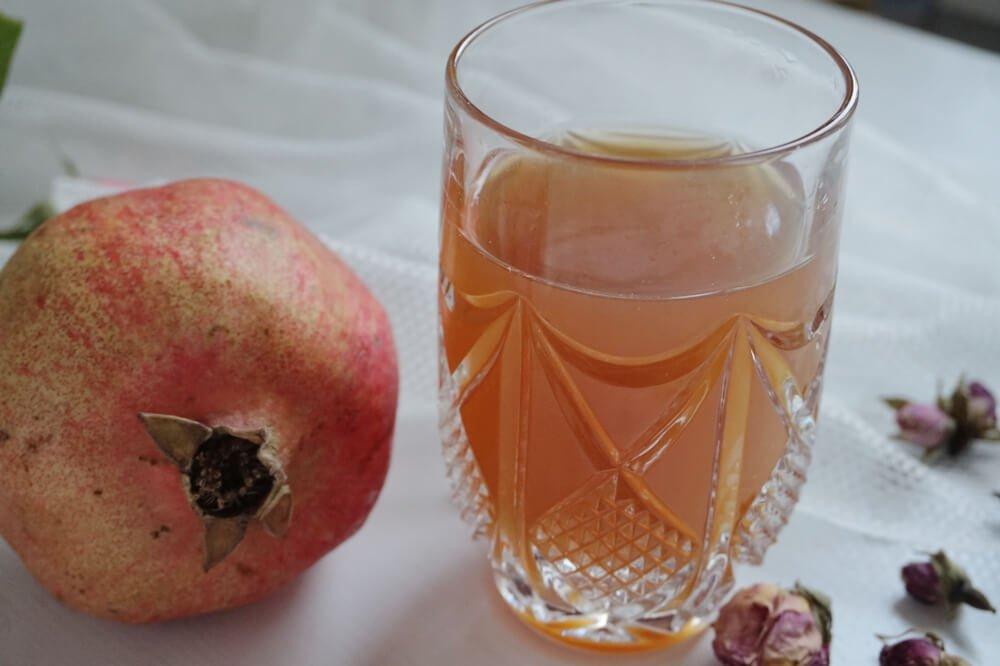 granatapfel rosen sirup die kleine botin 2
