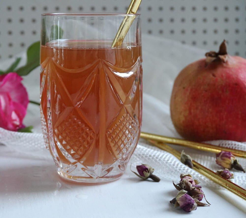 Granatapfel Rose Sirup