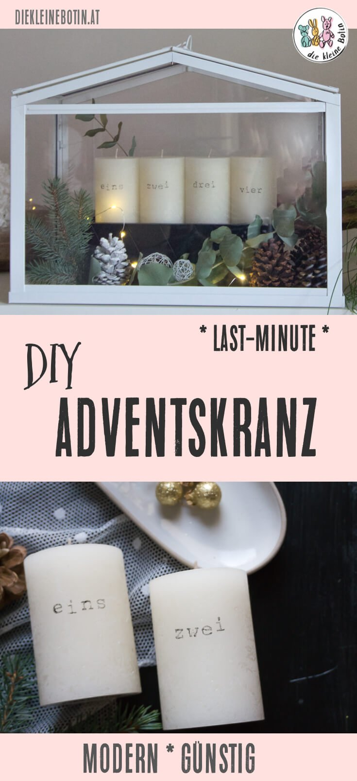 adventskranz diy pinterest
