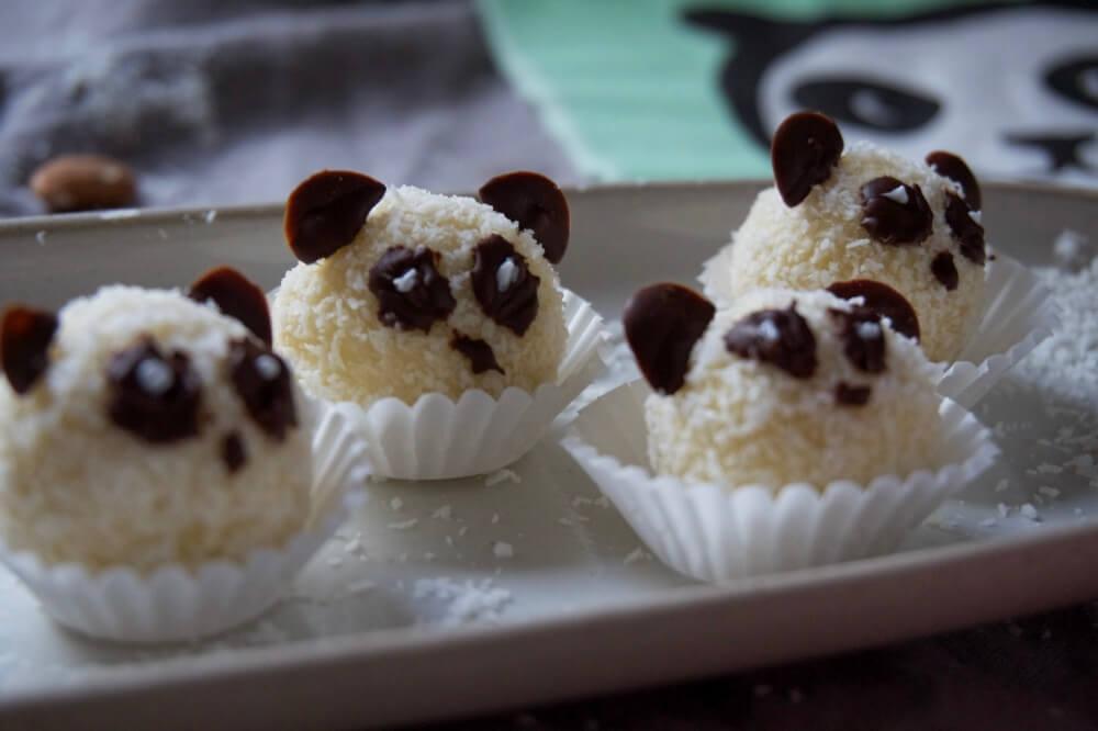 kokoskugeln panda cookies die kleine botin 2