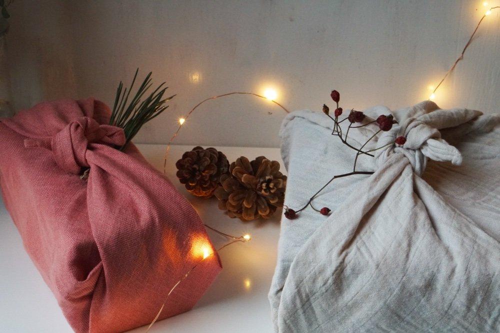 nachhaltig geschenke verpacken furoshiki tuch 1