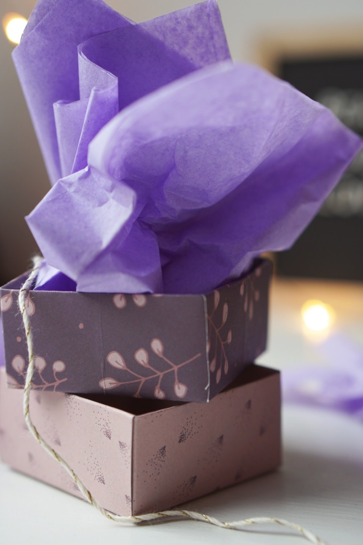 nachhaltig geschenke verpacken papierbox 2 1