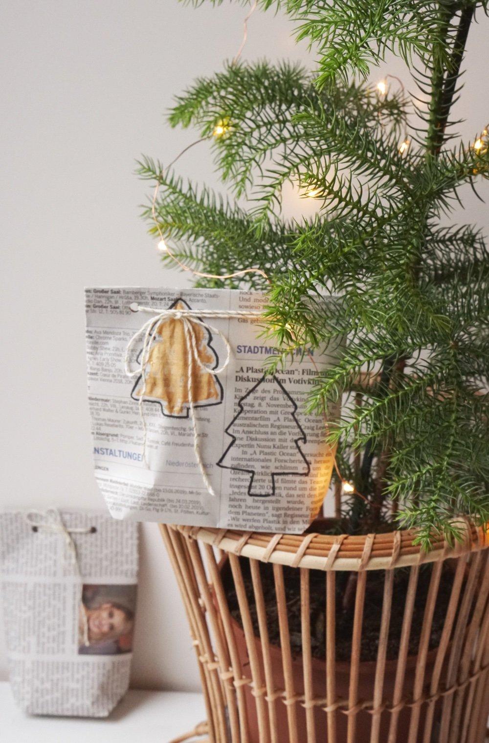 nachhaltig geschenke verpacken papiertuete 3 1