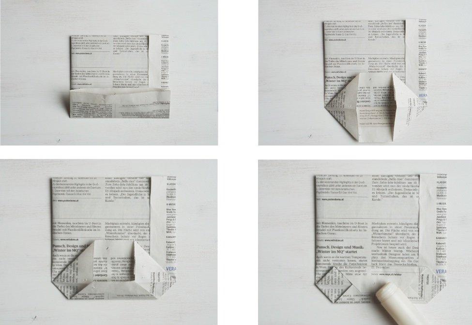 nachhaltig geschenke verpacken papiertuete anleitung 2