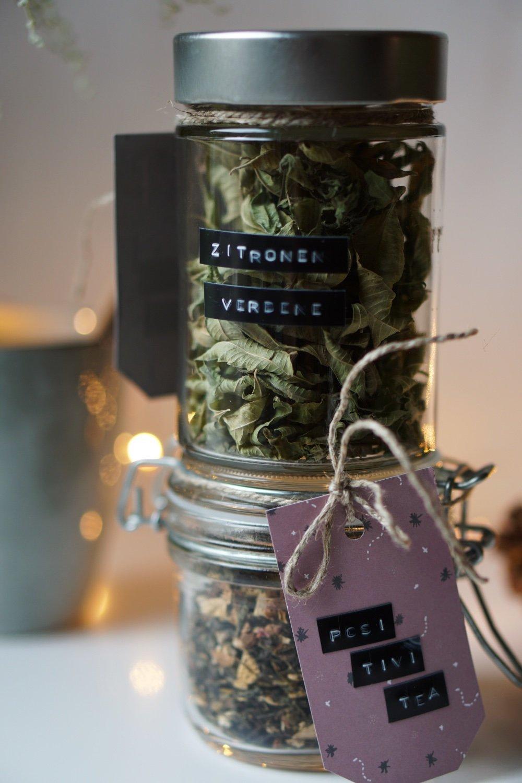 nachhaltig geschenke verpacken teeglas 1