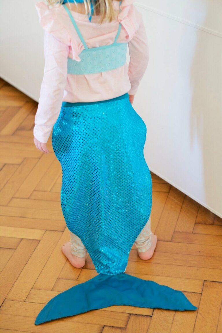 Kostüm für Kinder | Meerjungfrau – Fertig in 1 Stunde