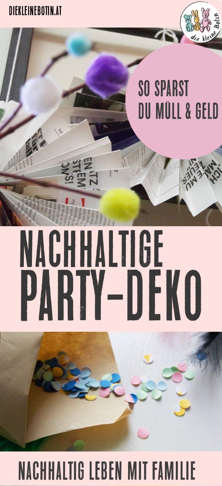 nachhaltige deko party pinterest