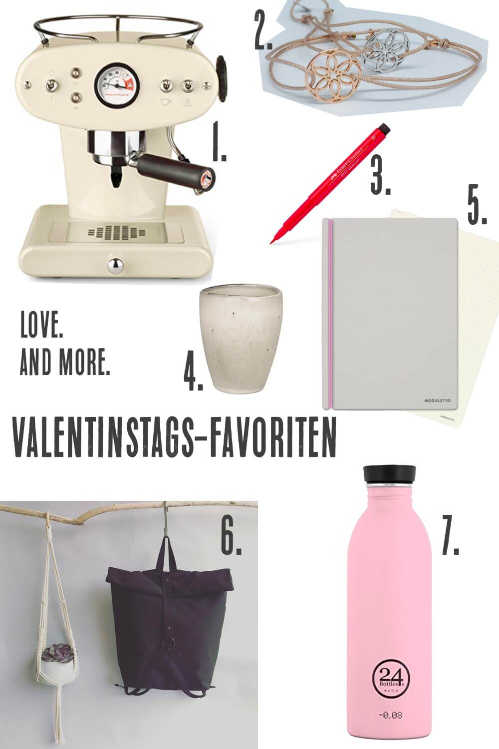 valentinstags favoriten collage die kleine botin