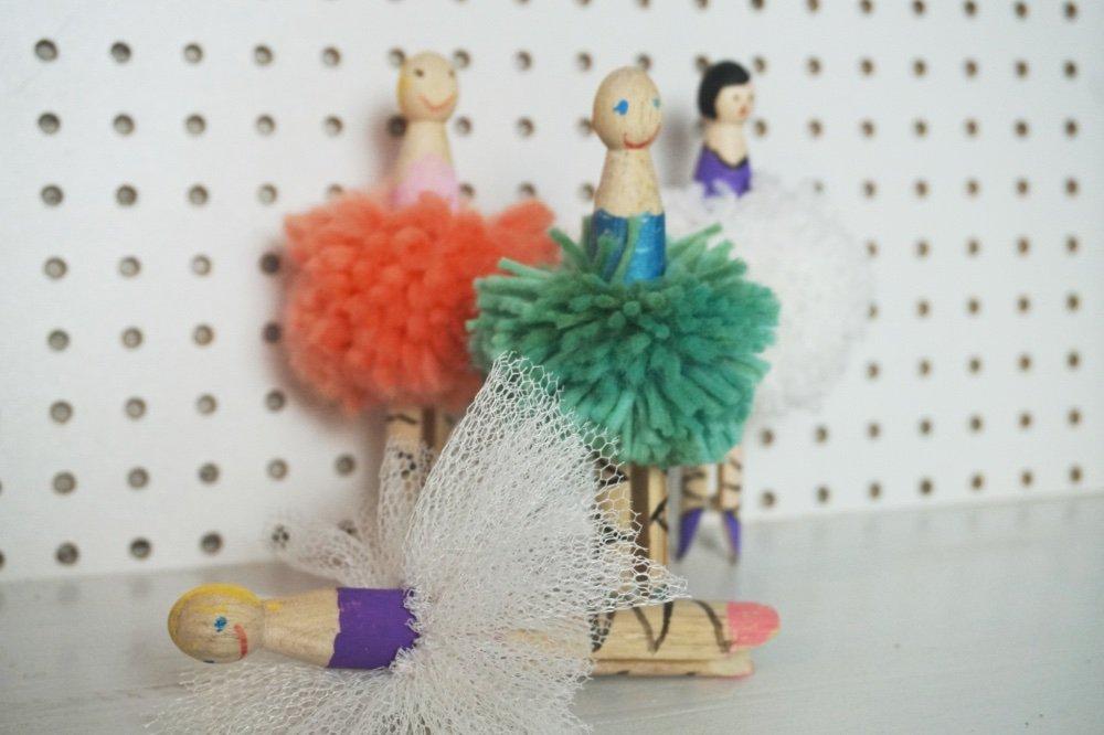 waescheklammer ballerina 1